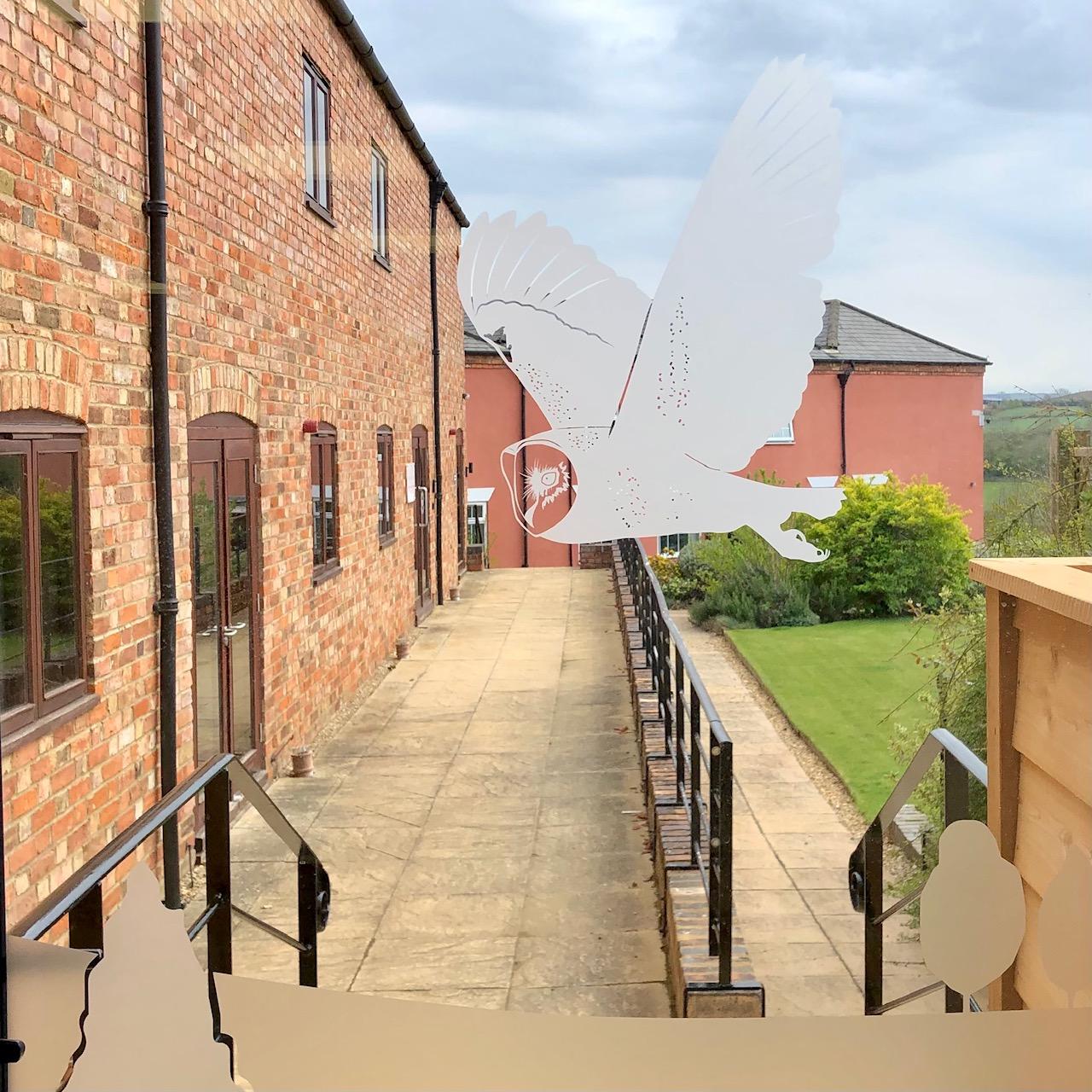 Bragborough Hall vinyl installation