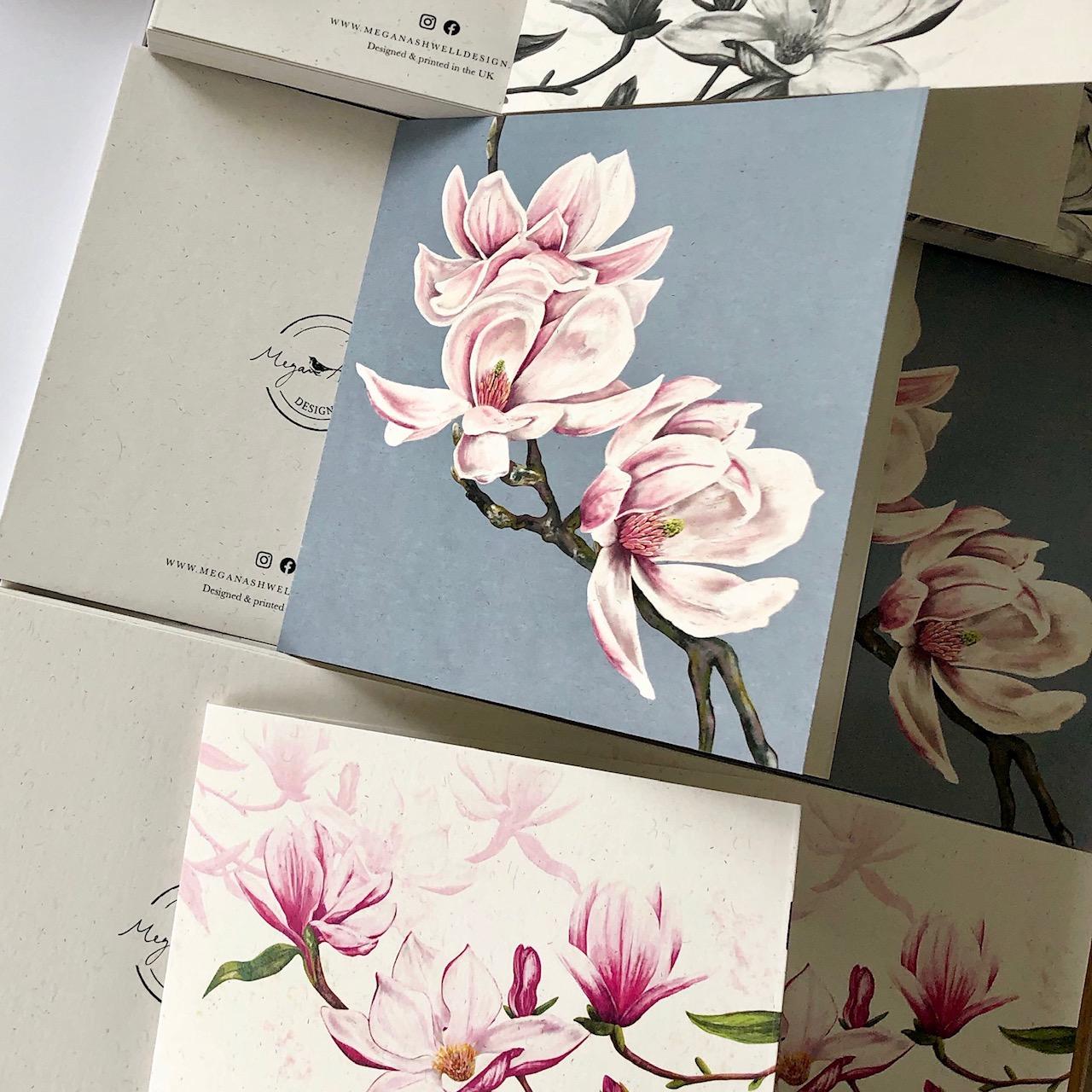 Megan Ashwell Design Greetings Cards